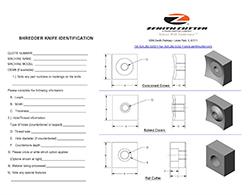 Shredder Identification