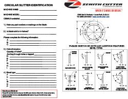 Circular Slitter Identification