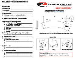 Male Slitter Identification